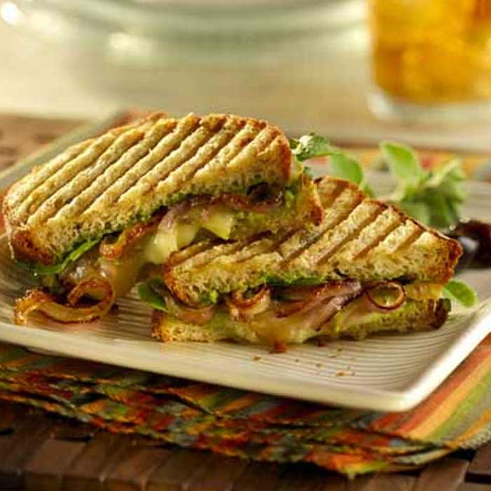 Grilled Onion Pannini