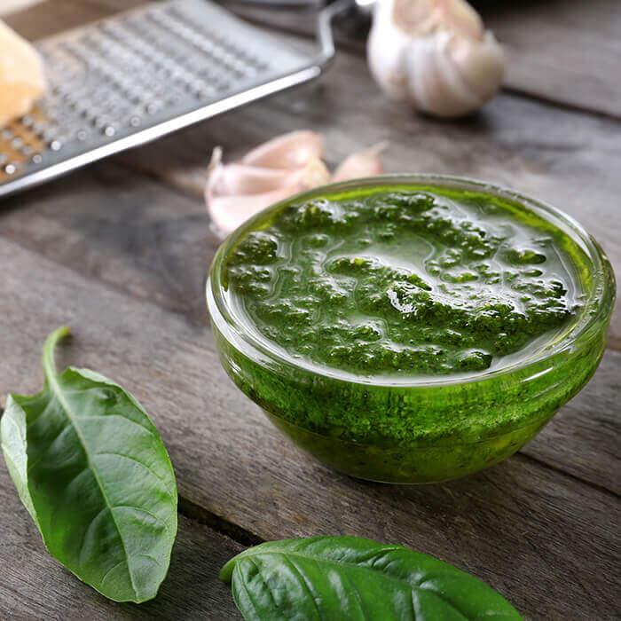 Onion & Spinach Pesto