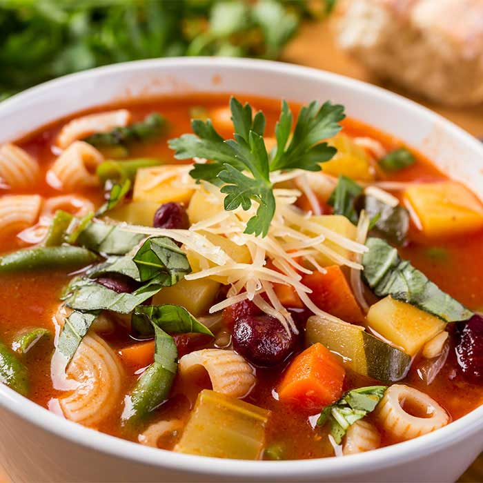 Quick and Easy Rustic Minestrone