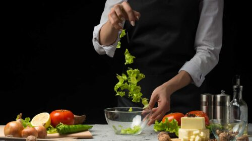Making Salad